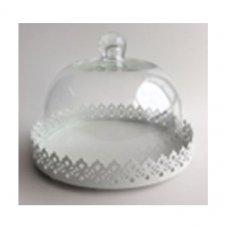 Ваза для пирожных со стеклянной крышкой Dolce Arti