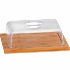 Доска сервировочная для сыра и хлеба с крышкой Kesper
